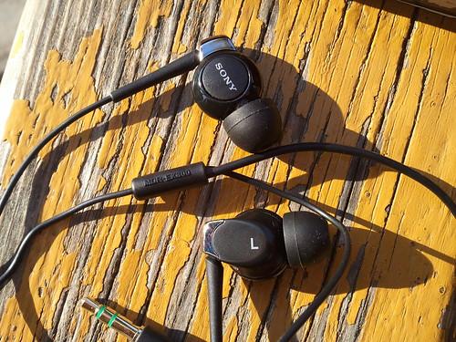 Sony MDR-EX300SL N.U.D.E EX Monitor Earphones