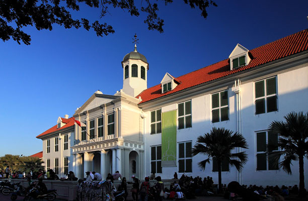 The-Jakarta-History-Museum-at-Fatahillah-Square