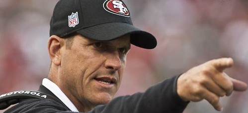 Harbaugh points the way...