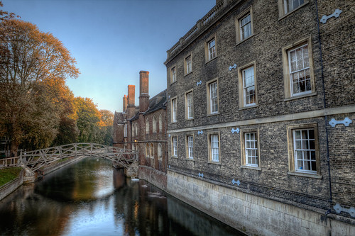 Cambridge Bridge (HDR)