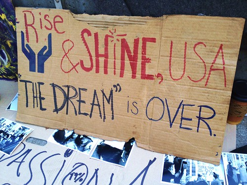 Then Dream #OccupySF #OWS