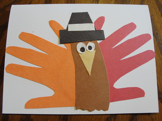 2011 Nov Handprint Turkey 2
