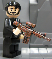 "BrickArms - JD's Custom Camo #2 Pack-a-Punched ARC ""Vicious"""