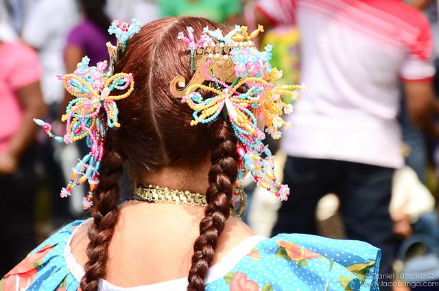 Colores antes del desfile