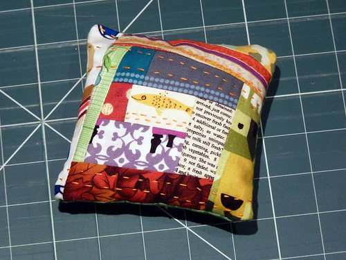 Scrappy Pincushion