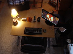 """Oct 26 2011 [Day 360] """"My New home Office"""""""