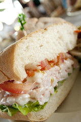 Shrimp Salad Sandwich, The Spinnaker, Sausalito