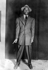 Rayfield McGhee in a zoot suit: Tallahassee, Florida