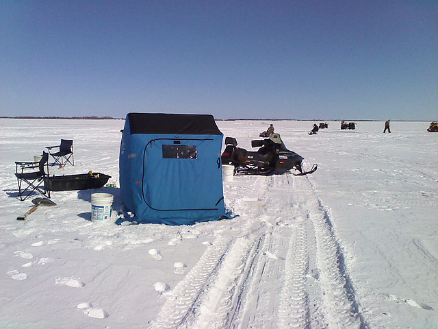 gisp ice fishing on devils lake 02 flickr photo sharing