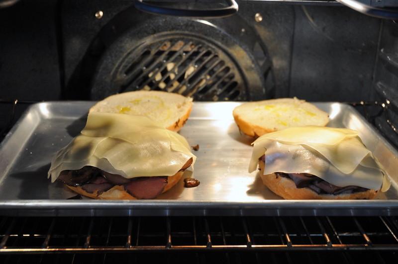 Hot Roast Beef Sandwiches