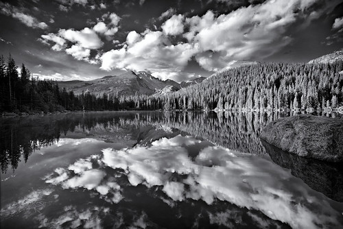 bear lake bw