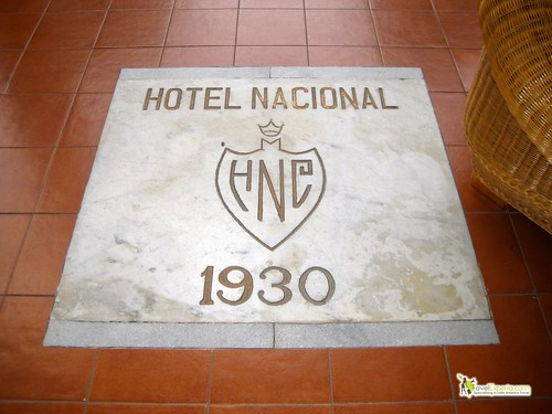 entrance to national hotel of cuba