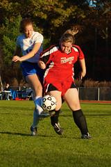 11-11 WCS Soccer Girls - New Testament Christian School vs Crusaders 142