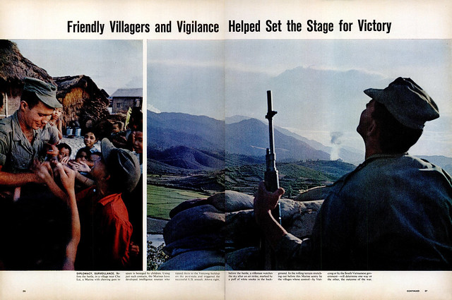 LIFE Magazine September 3, 1965 (4) - Friendly Villagers and Vigilance Helped Set the Stage for Victory