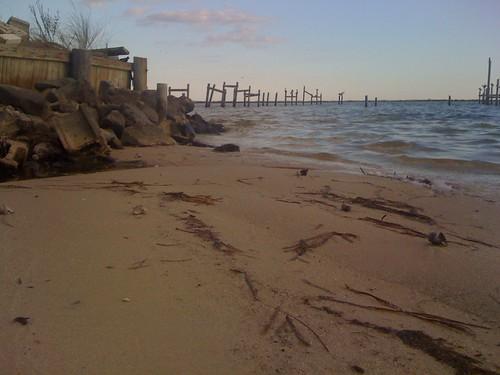 Private beachside.