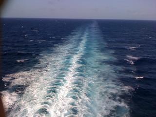 Cruising to Jamaica.