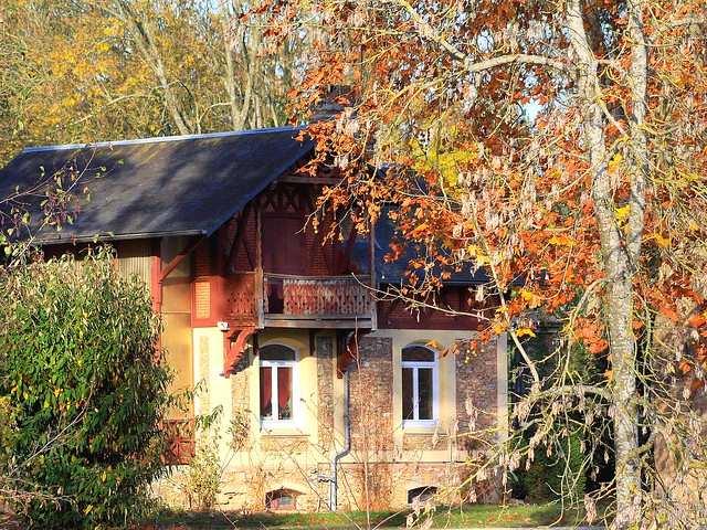 Maison automne 2