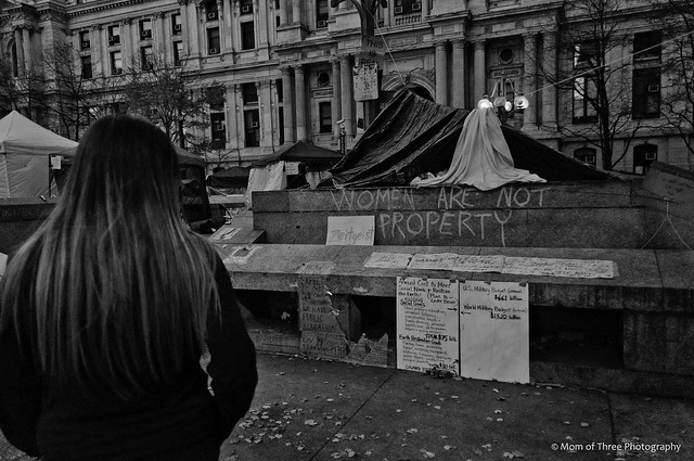 Women are not property (Occupy Philly).