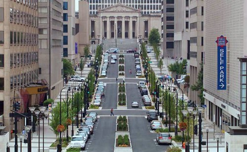 green street in Nashville (by: Nashville-Davidson County government)