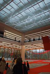 Vestíbulo y espacio de exposiciones