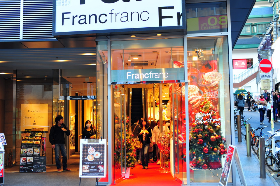 More Francfranc. I am working with Francfranc to help their overseas store promotions at the moment