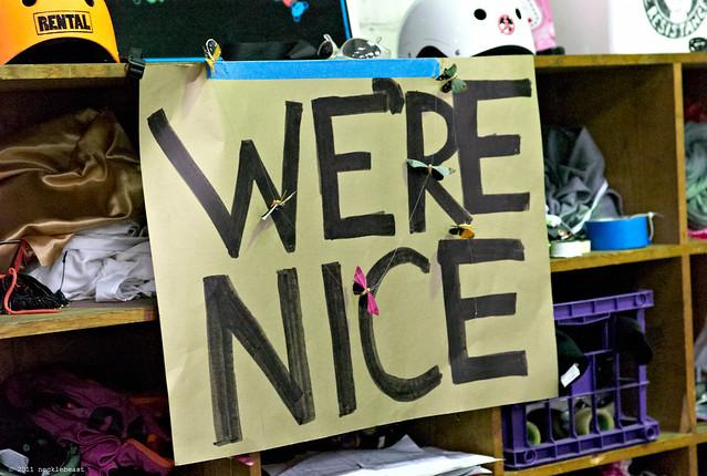 we're nice