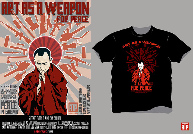 Art as a weapon T-shirt/poster