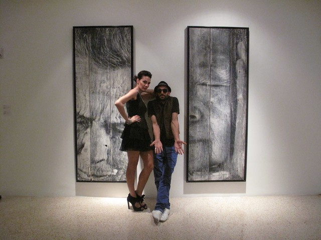 JR @ Galerie Perrotin - Art Basel Miami - Wynwood district
