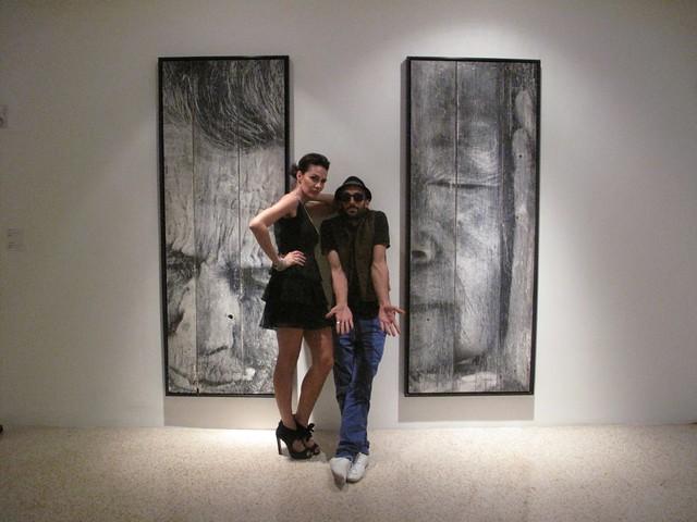 JR @ Galerie Perrotin - Art Basel Miami - Wynwood district