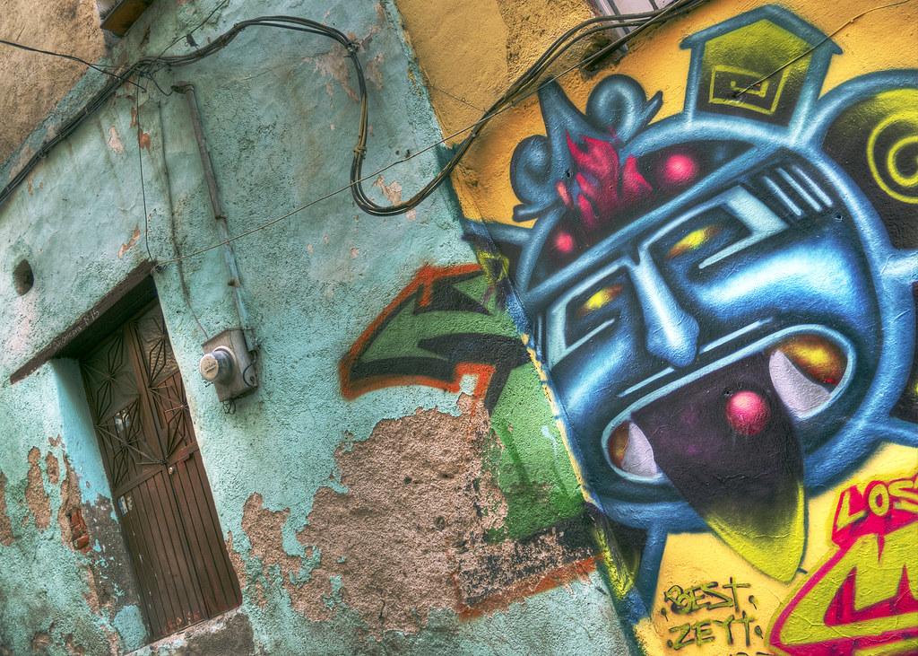 Graffiti, Guanajuato, Mexico