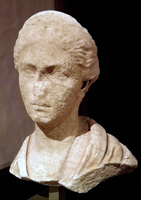Bust of Sabina, found at the Villa Chiragan, 128-137 AD, MSR, Musée Saint-Raymond, Musée des Antiques de Toulouse