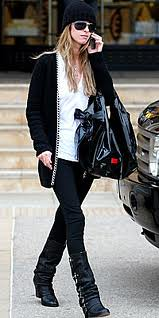 Nicky Hilton Beanie Hat Celebrity Style Women's Fashion