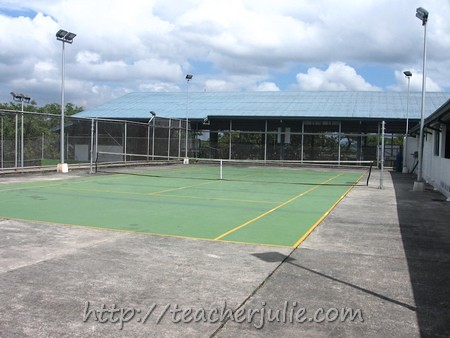 Faith Academy tennis court