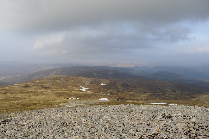 North from Carn a' Chlamain