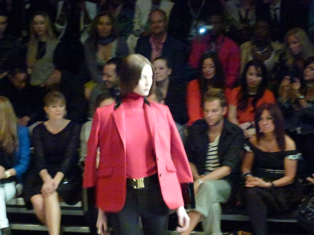 The 'shrug' at Pink Tartan