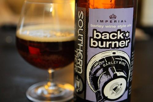 Southern Tier Back Burner Barley Wine Style Ale