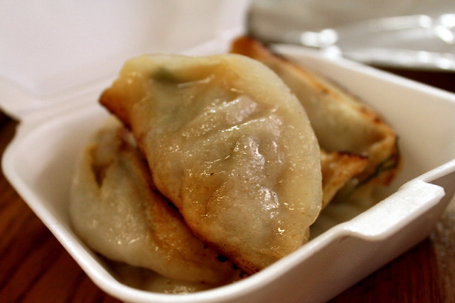 pork & chive potstickers