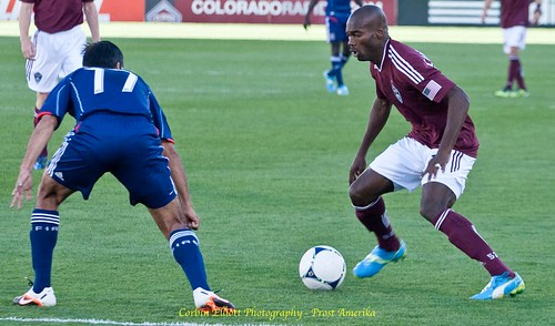 Omar Cummings Colorado Rapids by Corbin Elliott Photography, denver photographer