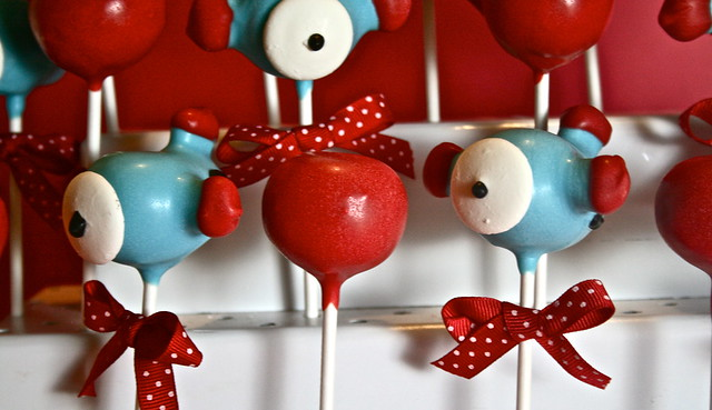 how to make airplane cake pops