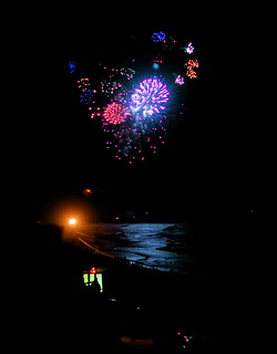 Fireworks Over Flagler Beach
