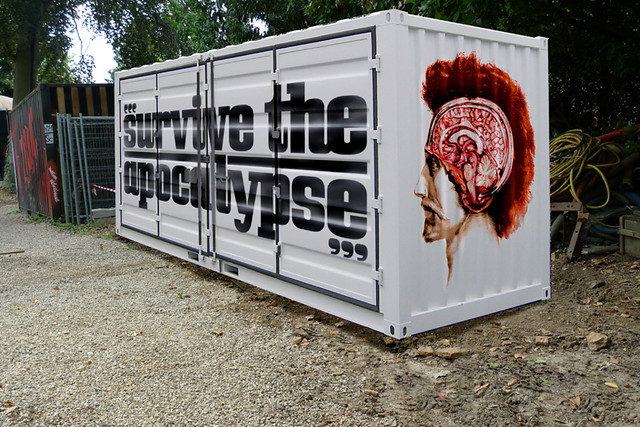 Borderline Biennale 2011's container