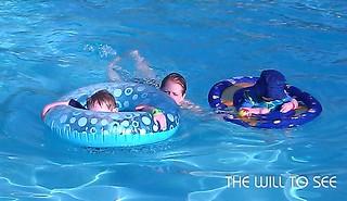 swimming at hilton