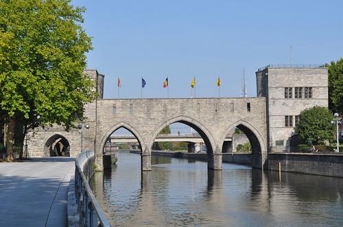 2011.09.25.052 - TOURNAI - Quai des Salines - Pont des Trous / L'Escaut