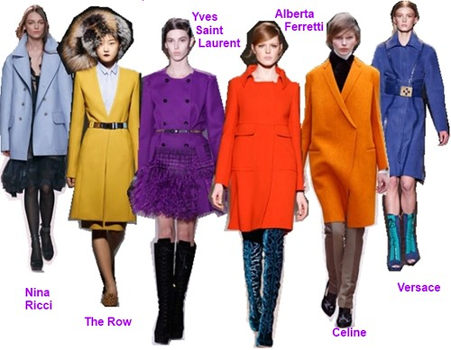 Technicolor Dream Coats for Fall