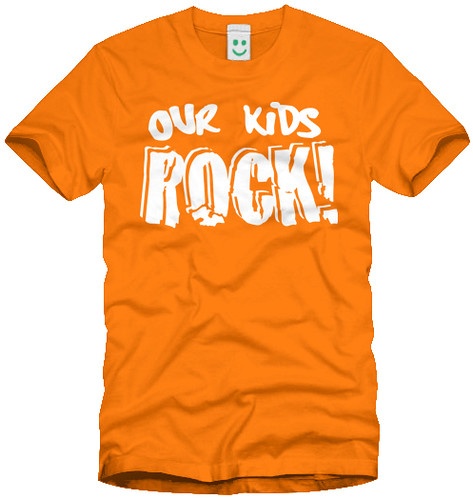 Our Kids Rock - Volunteer Shirt