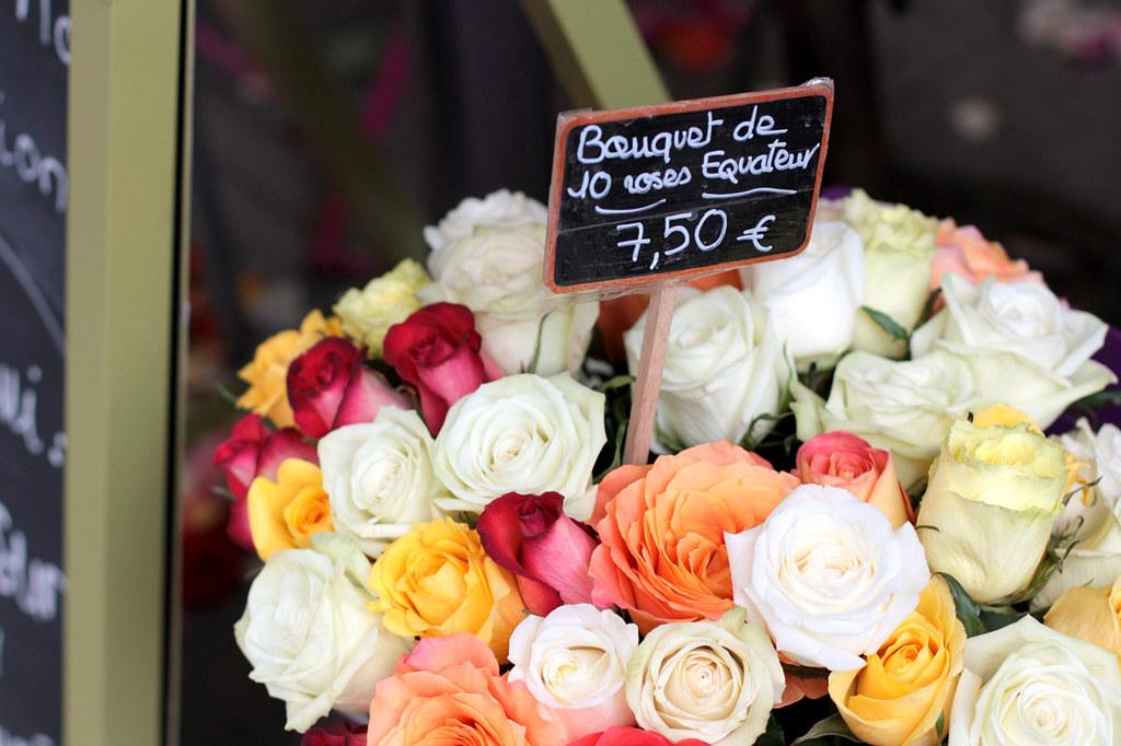 Rue Cler fleurs