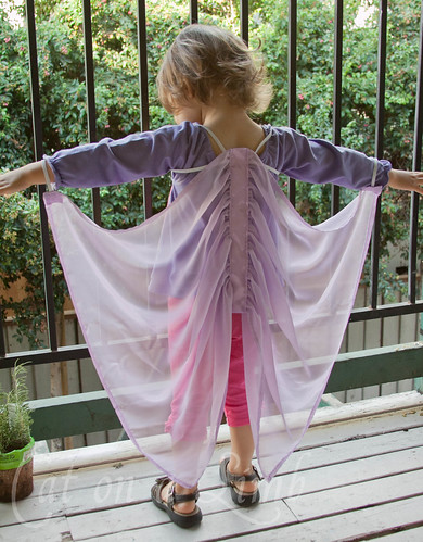 Cat on a Limb: Homemade Silky Fairy Wings -- Christmas ...