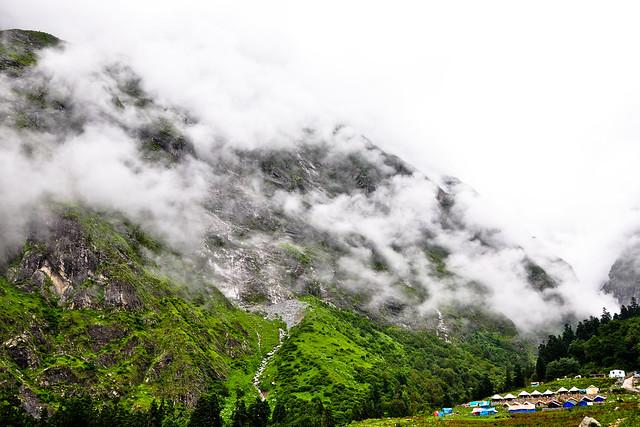 El Valle de las Flores, El Himalaya, Uttaranchal, India