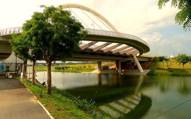 Punggol's waterway,Singapore