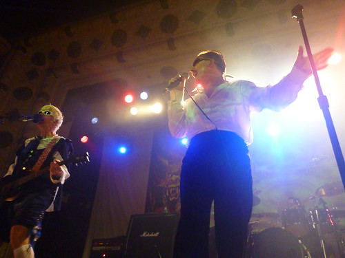 dave vanian and captain sensible at the metro